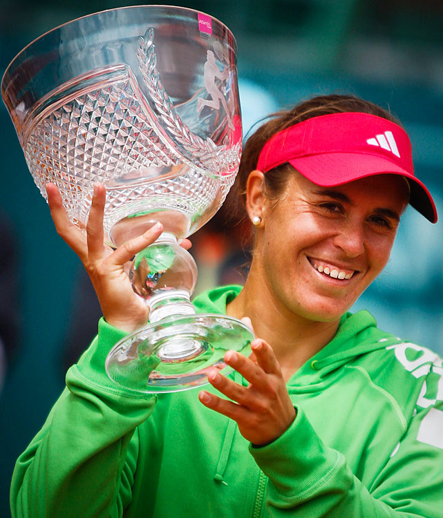 def. Kristina Barrois, 6-1, 6-2 WTA International, Clay (Outdoor), $220,000 Estoril, Portugal