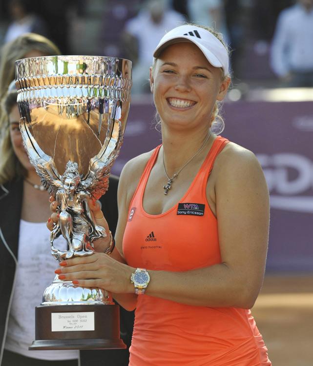 def. Peng Shuai, 2-6, 6-3, 6-3 WTA Premier, Clay (Outdoor), $618,000 Brussels, Belgium
