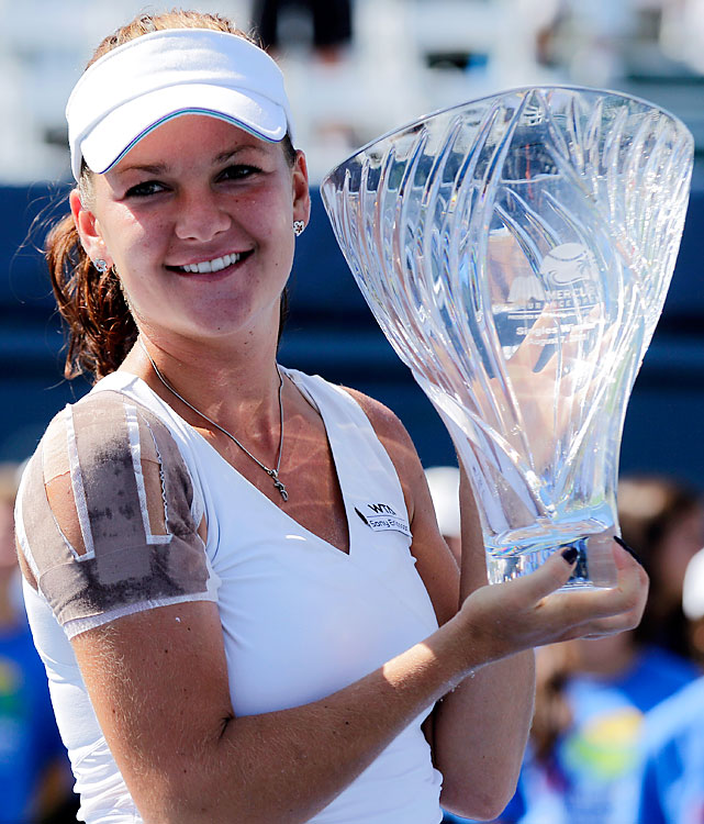 def. Vera Zvonareva, 6-3, 6-4 WTA Premier, Hard (Outdoor), $721,000 Carlsbad, Calif.