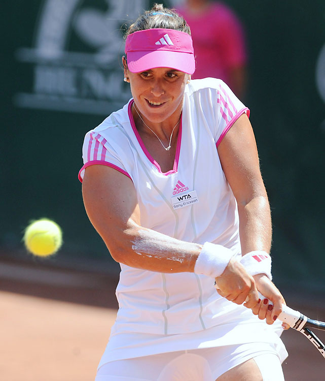 def. Polona Hercog, 6-3, 6-2 WTA International, Clay, $220,000 Palermo, Sicily