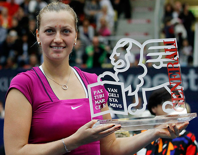 def. Dominika Cibulkova 6-4, 6-1 WTA International, Hard (Indoors), $220,000 Linz, Austria