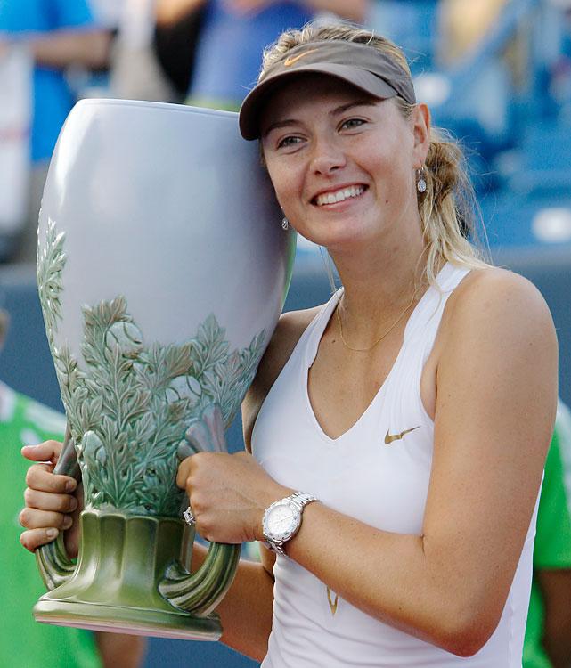 def. Jelena Jankovic 4-6, 7-6 (3), 6-3 WTA Premier, Hard (Outdoor), $2,050,000 Cincinnati
