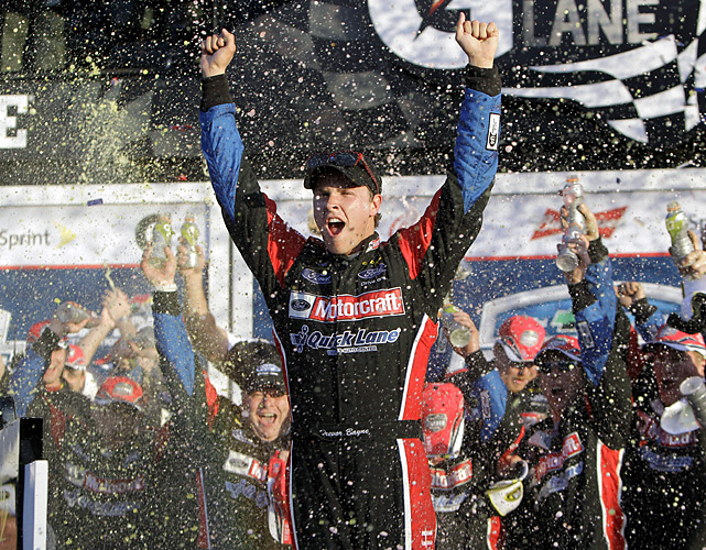 Trevor Bayne, who turned 20 Saturday, became the youngest to win the Great American Race. He supplanted Jeff Gordon, who was 25 when he won the Daytona 500 in 1997.