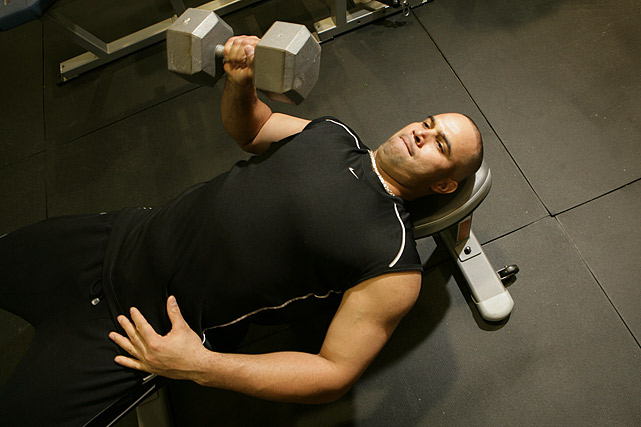 Pujols, widely considered one of the strongest players in baseball, lets the Sports Illustrated cameras in on his workout.