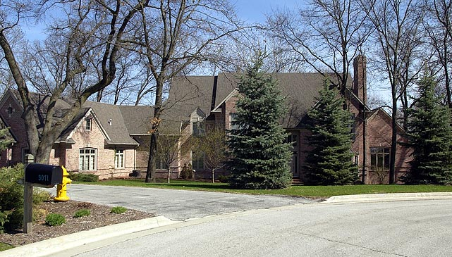 The revered Packers quarterback lived in this home during his time in Green Bay.