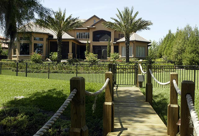 Williams lived in this star-studded neighborhood in his time with the Orlando Magic.