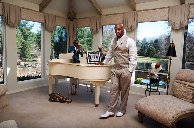 McNabb put this New Jersey home up for sale in 2010 after he was traded to Washington.