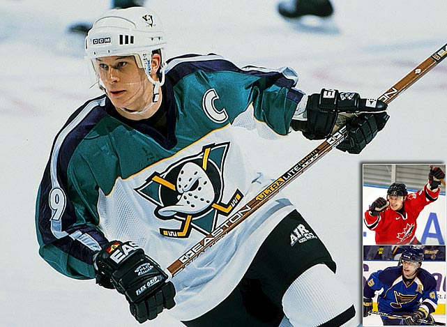 Kariya announced the end of his stellar, 15-season NHL career on June 29 after being unable to return from post-concussion symptoms that forced him to miss all of last season.  The 36-year-old Kariya scored 402 goals and helped set up 587 others with Anaheim, Colorado, Nashville and St. Louis.  He was also a two-time Lady Byng Trophy winner and won a gold medal with Team Canada in the 2002 Winter Olympics.