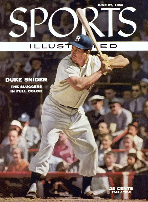 Snider hit 40 or more home runs in five consecutive seasons between 1953-57 and was runner-up for MVP in 1955.