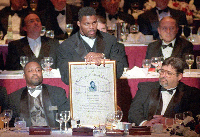 Walker was inducted into the College Football Hall of Fame in December 1999.