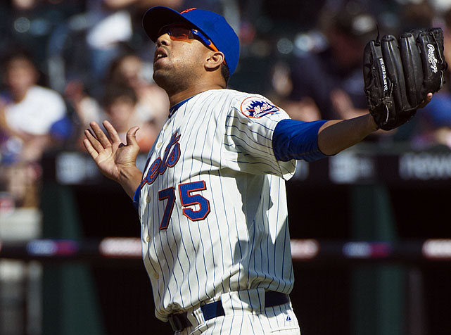 Career highs by category:   5 W, 1.73 ERA, 123 K, 0.99 WHIP, 62 SV  Projected numbers:   4 W, 2.50 ERA, 75 K, 1.20 WHIP, 35 SV   K-Rod has a whole bunch of motivation this spring, including cleaning up his personal image after a domestic dispute with his baby's maternal grandfather cost him a team-imposed suspension and left him with a thumb injury that required season-ending surgery. The Amazin' mess almost made his current contract void. The Mets definitely wanted to get out of that $17.5 million option with a $3.5 million buyout. K-Rod will already make $11.5 million this season, and you might as well tack on the the buyout. Closers just aren't worth $17.5 million a year. K-Rod has to keep his nose clean, because the Mets are in financial trouble and they'll lilely use any excuse possible to cut costs and try to void this deal. So consider this a make-or-break year for K-Rod, a contract-year at that. Remember the last time K-Rod was headed to free agency before signing with the Mets? Oh, all he did was set the single-season saves record. Yeah, it could be a good year for him and his fantasy owners. And he will come cheaper than ever on draft day.