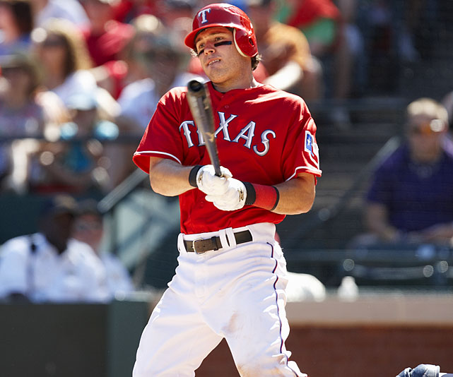 Career highs by category:  .319 AVG, 31 HR, 86 RBI, 102 R, 31 SB   Projections:   .281 AVG, 22 HR, 75 RBI, 105 R, 23 SB    Speaking of injury-risk sluggers in that optimal Texas environment ...  despite being just 28, Kinsler has career highs that would make him a  first-round pick if he could put them altogether. Injuries have plagued him  throughout his career and kept him from reaching 500 at-bats for a third  consecutive season. There were good signs a year ago, though. His average was up  along with his walk rate. If his power returns and his health remains good, he could be ready for a monster year that could top all fantasy second basemen.