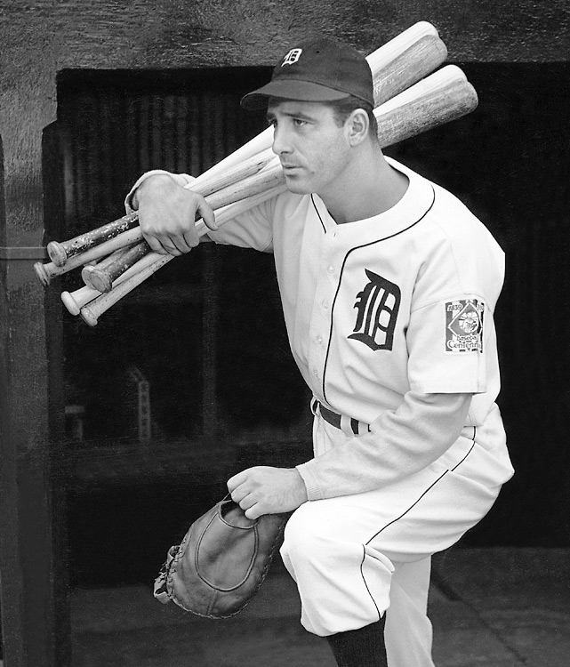 Jan. 18, 1947: Talked out of retirement by Pirates owner John Galbreath, Pittsburgh bought Greenberg from the Tigers for $75,000 and agreed to make him the first $100,000 player. Greenberg hit the final 25 homers of his career and tutored prospect Ralph Kiner.