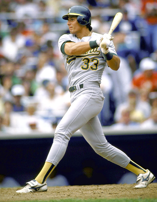 June 28, 1990: The Oakland A's raise the salary bar when they sign Jose Canseco to a five-year, $23.5 million extension that yields $4.7 million per season.