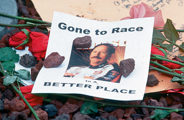 Earnhardt's death in 2001 incited a nationwide reaction, one that hasn't faded over time. On Sunday, NASCAR plans for lap 3 to be silent both on TV and in the grandstands in honor of the fallen legend.