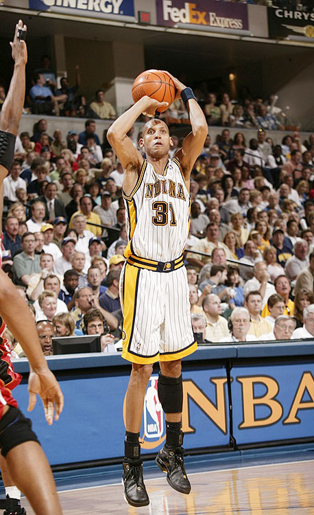 Eighteen years, 2,560 three-pointers. Not too shabby. He held the record for nearly six years, but the Pacers' great now ranks No. 2 behind Allen. Miller is still the leader in attempts, with 6,486, and he ranks 42nd in accuracy at 39.5 percent.