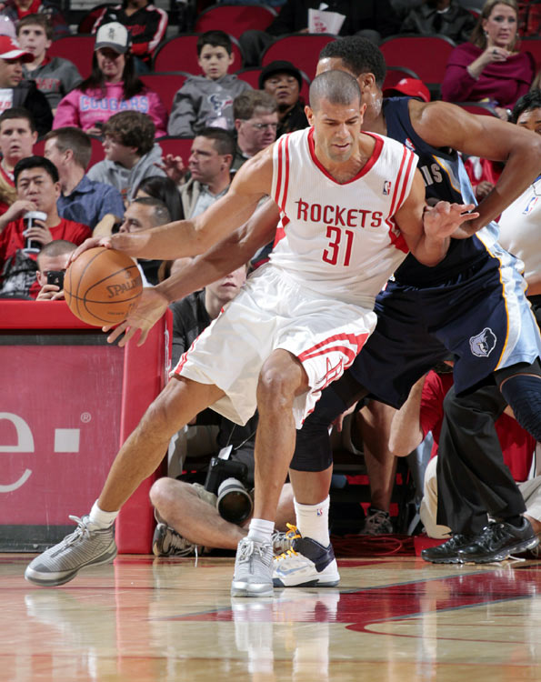 After four and half seasons with the Rockets, Battier was sent back to where his NBA career began. Houston also sent guard Ish Smith to Memphis in exchange for former No. 1 draft pick Hasheem Thabeet and a future first-round pick.