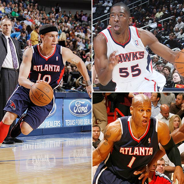 The Wizards added a nice backup point guard Thursday, trading for point guard Mike Bibby, guard Jordan Crawford, guard/forward Maurice Evans and Atlanta's 2011 first-round draft pick. In return, the Hawks received Kirk Hinrich and Hilton Armstrong.