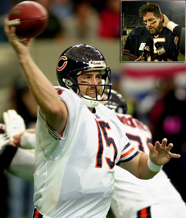 The nine-win fall wasn't all that surprising: The Bears' only winning season from 1996-2004 came in 2001, when the league's stingiest defense carried a team quarterbacked by the pedestrian Jim Miller.