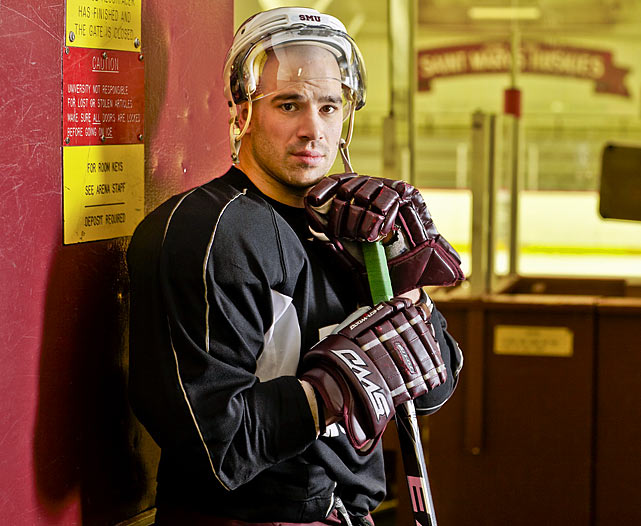 "After serving 65 months in prison, during which time he received intensive therapy, Danton was freed in the fall of 2009. Now 30 years old, he is studying psychology (with a near 4.0 GPA) at St. Mary's University in Halifax, Nova Scotia and playing for the Huskies, the school's hockey team. ""I know this is going to sound nuts,"" he told SI, ""but I'm glad I went to prison...because the negative-downward spiral that would have happened would be been 10 times worse. It saved me in a way."""