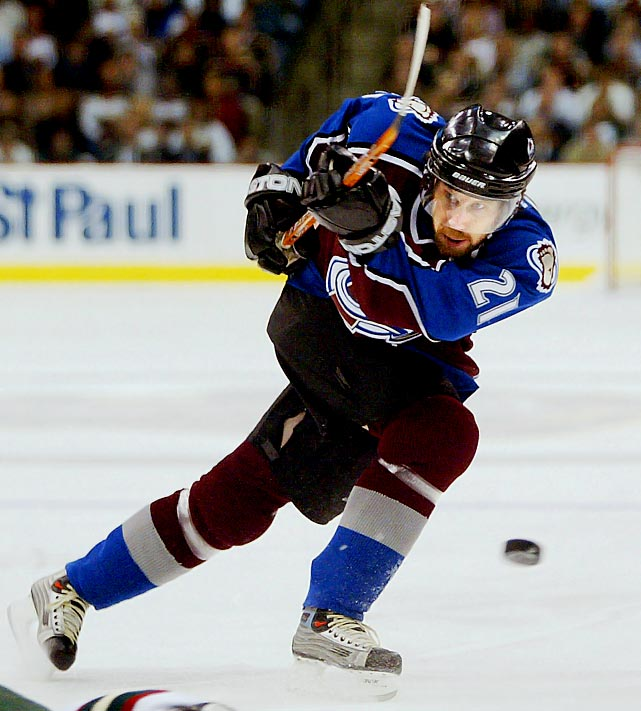 One of hockey's great all-around centers, Peter Forsberg, 37, announced his retirement on Feb. 14, 2011 after a chronic problem with his right foot ended his attempt at a comeback with the Colorado Avalanche. Forsberg, who played all or parts of 13 seasons in the NHL, had spent the previous two years in Sweden, playing sporadically for Modo of the Elite League.