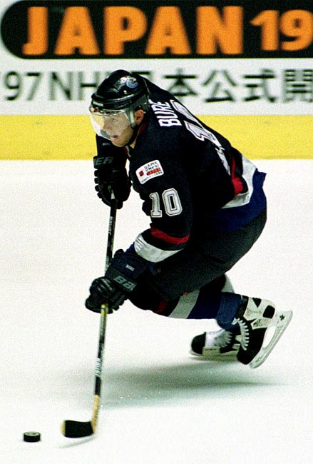 In both its first trip to Japan and the first regular season game staged outside of North America, the NHL pitted the Vancouver Canucks against the Mighty Ducks at Yoyogi Arena.  In front of a sell-out crowd of 10,500, the Canucks beat the Mighty Ducks 3-2.
