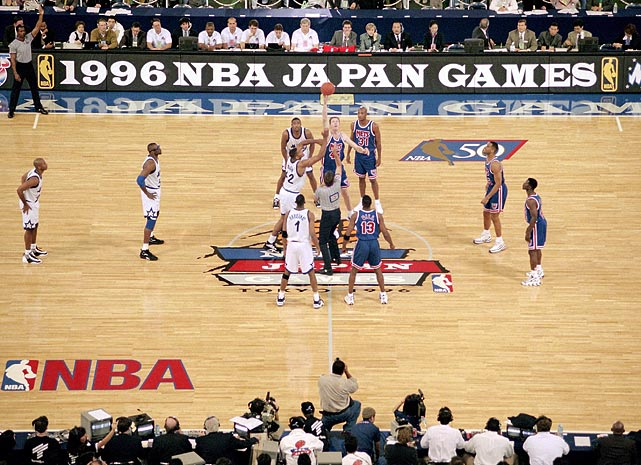 The Magic trounced the Nets 108-95 in the NBA's fourth year of staging season-opening games in Japan.