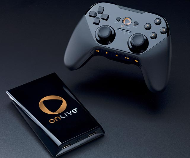 "For folks that don't want to invest in expensive gaming hardware and software, the OnLive Game System ($99) offers an alternative way to play. OnLive is a streaming device that allows gamers to play games without owning any physical game media. Out of the box the system comes with the game device, a wireless controller, HDMI and Ethernet cables, a USB charging cable and an AC adapter. It's easy to connect and get running quickly.   OnLive offers a few ways to play a game. There's 44 featured games that you can purchase a 3-day or 5-day rental or buy outright. Rentals range between $4-10 and full purchases $20-40. There's also a monthly program ($10/month) that allows unlimited play and access to a different group of about 40 classic and catalog titles. OnLive users can also demo all available games for free. Demos are usually 15-30 minutes of full access to the title.   Featured titles include games like NBA 2K11, Assassins Creed 2 and Mafia 2, while catalog games include the likes of Prince of Persia, FEAR 2 and NBA 2K10. OnLive has announced plans to add more than a dozen Square Enix titles soon to the monthly service. The small size of the library is an issue, but it's encouraging to see the service offerings growing already.   The game streaming is very fast in terms of load times, and the service is fairly polished overall when it comes to navigation and menus.   The downside of OnLive is that the graphics aren't as sharp as what you'd get from an Xbox 360 or PS3, and there's some input lag as measured between your controller commands and screen response. OnLive recommends 5Mbps connection for 40"" and larger TVs for best video quality.   The OnLive service allows users to record game clips and post them to profile pages, and it allows you to seamlessly view any live games going as an observer. It's an interesting way to decide if you want to friend someone on the service.   Overall the OnLive service is impressive, and is an intriguing alternative to the big bucks you'd otherwise invest in traditional consol"