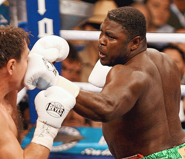 """The Nigerian Nightmare"" earned the WBC heavyweight title with a sixth-round TKO of Oleg Maskaev on Mar. 8, 2008."
