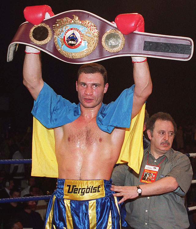 The elder Klitschko brother captured the WBO heavyweight title with a second-round knockout of Herbie Hide on June 26, 1999.