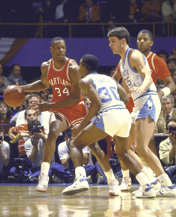 Bias blossomed into the ACC Player of the Year as a junior in 1985 and again in 1986, joining Dickie Hemric (Duke), Len Chappell  (Wake Forest), Larry Miller (North Carolina), John Roche (South Carolina), David Thompson (N.C. State, three-time winner) and Ralph Sampson (Virgina, three-time winner) as the only players to repeat. He was later joined by Danny Ferry (Duke), Tim Duncan (Wake Forest) and J.J. Redick (Duke).