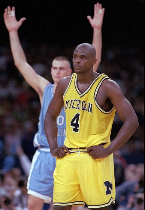 On one of the most memorable championship games in tournament history, the Wolverines and Tar Heels battled until the final seconds. That's when Chris Webber famously called a timeout that Michigan did not have. The Wolverines were assessed a technical foul and North Carolina converted both shots to secure a victory.