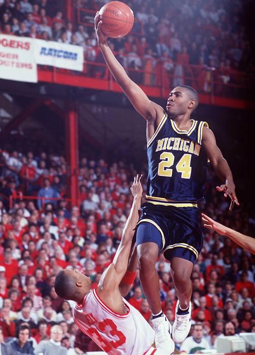 Jimmy King arrived in Ann Arbor from Plano, Texas, where he was a four-time All-America at Plano East High.