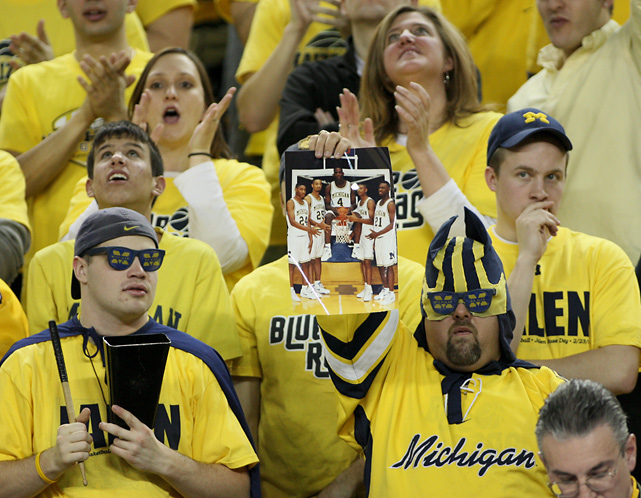Even though it's been nearly two decades since they arrived in Ann Arbor, the Fab Five is still fondly remembered by today's student body.