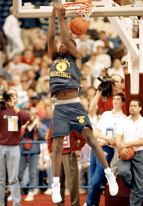 The team was led by Chris Webber, a Detroit native who led Detroit Country Day School to three state titles. He was named Michigan's Mr. Basketball and the 1990-91 National High School player of the year.