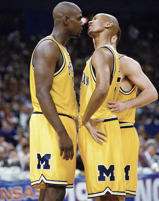 It didn't take the Fab Five long to make an impact. After finishing 14-15 the season before, the Wolverines won nine of their first 10 games on their way to a 25-9 record. They also made an impact off the court as the group set style trends with their baggy shorts, black sneakers and shaved heads.