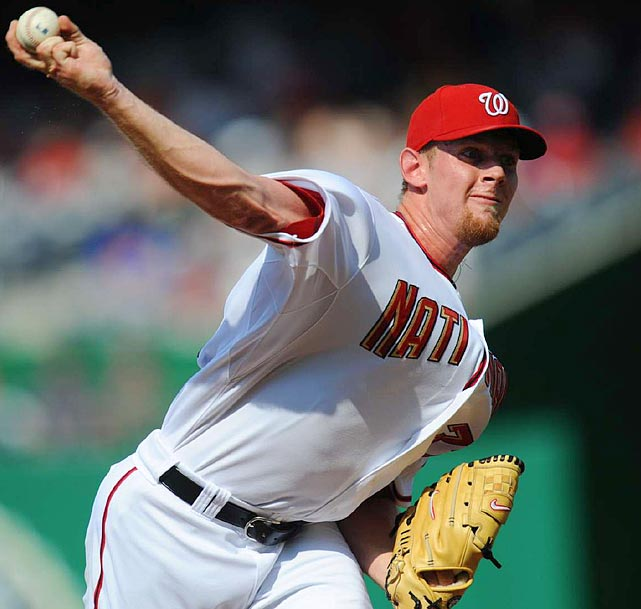 Twenty-two-year-old flame-throwing prodigy Stephen Strasburg lived up to his billing in 2010. In 12 major league starts, the No. 1 overall pick in the 2009 draft had a 2.91 ERA and tallied 92 strikeouts in only 68 innings. But in a start in late August against the Phillies, Strasburg was abruptly removed with a serious elbow injury that required Tommy John surgery in September. The Nationals will have to wait five to 11 more months for the expected recovery of their fallen star.