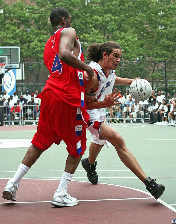 "On the heels of winning his first NCAA Championship with the Florida Gators in 2006, Noah returned for a second summer at Rucker. ""I got my swagger at the Rucker,"" he told SI.com at the time. ""The basketball is completely different here; it isn't for everybody. But if you can play at the Rucker, you can play anywhere."" He went on to win his second NCAA title the following season before joining Chicago Bulls."