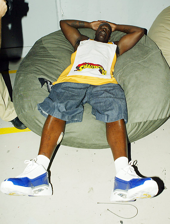 In light of a recent report on NBA players' fondness of pregame naps, we took it upon ourselves to find all the classic photos of pro ballers dozing ... starting with Shaqtacular.