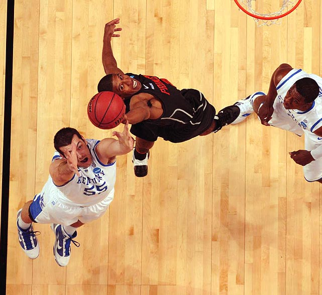 Princeton gave Kentucky all it could handle, but couldn't quite pull off the upset.