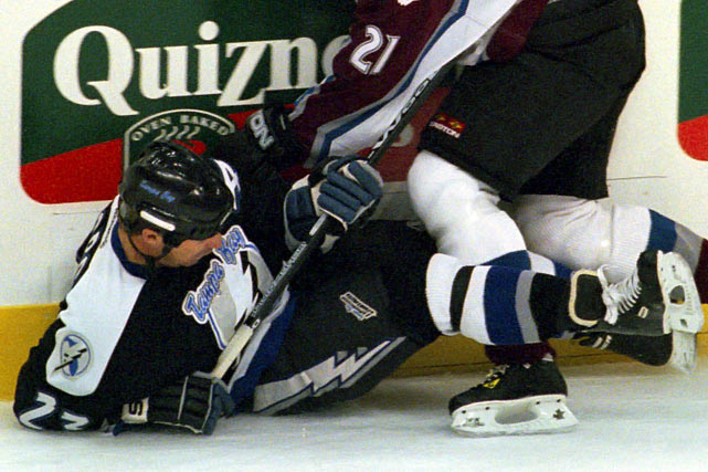 Seventeen months after being knocked out by a hit from Shane Doan of the Coyotes in 2000, the veteran Czech defenseman decided to retire because his concussion symptoms were still present. Svoboda had played nearly 17 seasons for four NHL teams, winning the Stanley Cup with Montreal in 1986.
