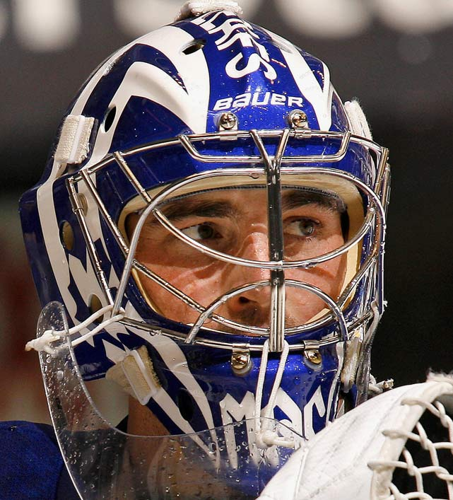 "MacDonald took his first historical approach towards the art on his mask while playing with Toronto when he chose to replicate the look of past Maple Leafs netminder Michel ""Bunny"" Larocque. Clearly an aesthetic choice since Larocque mustered only 16 wins in 74 games with the franchise."