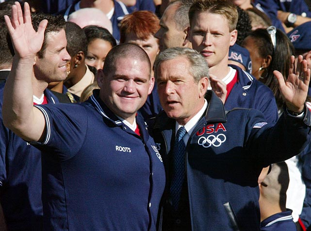 A member of the 2004 Olympic team, Gardner was invited to the White House for some quality time with then-president George W. Bush.