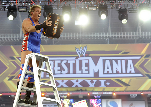 "WrestleMania XXVI took place in Glendale, Ariz. and was highlighted by The Undertaker defeating Shawn Michaels in a streak vs. retirement match. Also on the card, Jack Swagger won the ""Money in the Bank"" match by defeating Dolph Ziggler, Shelton Benjamin, Drew McIntyre, Christian, MVP, Matt Hardy, Evan Bourne, Kofi Kingston and Kane."