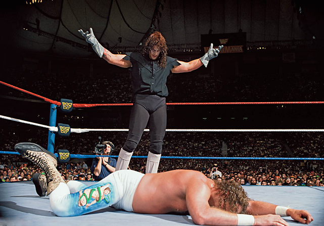"The Undertaker has won all 18 of his WrestleMania matches. In 1992, he was participating in just his second WrestleMania when he defeated Jake ""The Snake"" Roberts."