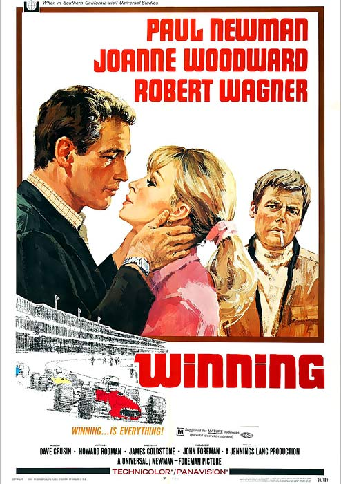 The film follows driver Frank Capua and his on-track exploits (shot against the 1968 Indianapolis 500) and his equally racy off-track marital strife. It's a 1960s date movie with goggles, but there's enough to see to captivate a race fan and more to ponder considering this project enrapt lead actor Paul Newman with motorsports, sparking what became a passion in racing and owning cars.