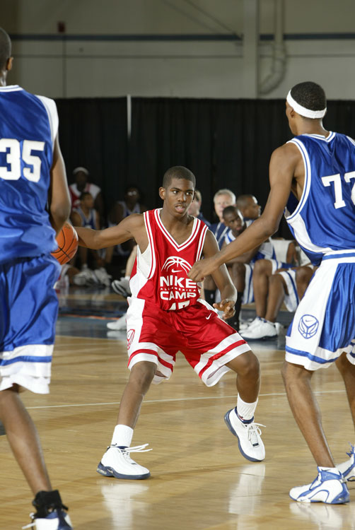 As the top point guard prospect to come out of North Carolina in 2003, Paul committed to Wake Forest, where he played two years before going pro.