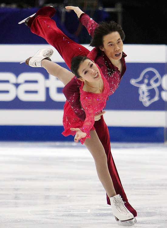 Pang and Tong surpassed the Germans in 2010, edging them for silver at the Olympics and then winning last year's world championship. They've skated together for nearly two decades and plan on marrying after worlds, which may signal the end of their competitive careers.