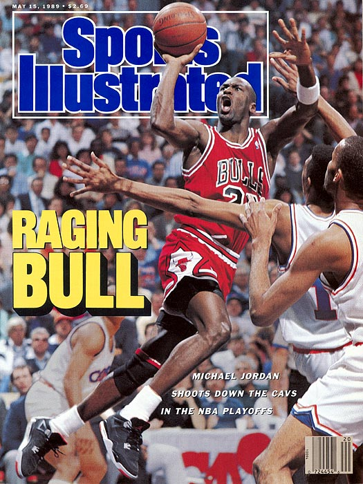 """The year before Jordan devastated Cleveland with The Shot, he delivered back-to-back games of 50 and 55 points to lead the Bulls to a 2-0 series lead against the Cavaliers. Jordan became the first player to score 50 or more points in consecutive postgame games. """"Michael Jordan,"""" Scottie Pippen said after Game 2, """"is God's gift to the world."""" Chicago won the series in five games, with Jordan advancing to the second round for the first time in his four-year career."""