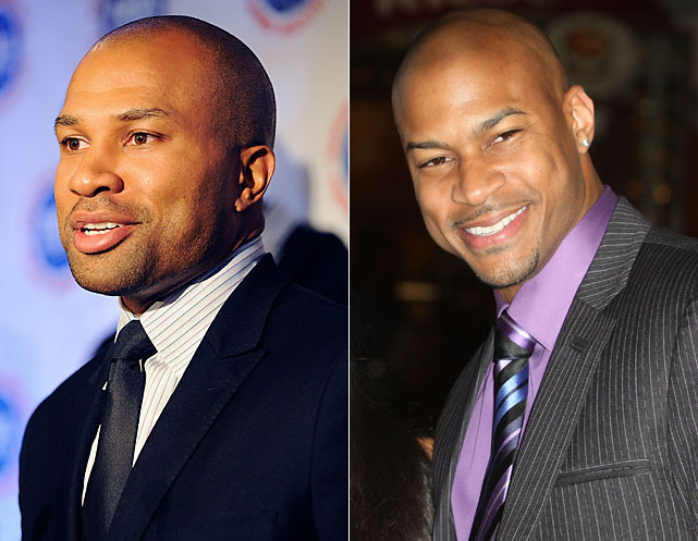 Derek Fisher : Oklahoma City Thunder guard  Finesse Mitchell : Actor, Comedian